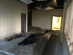 Lots of excavation for plumbing prep at PMAH in Acton MA