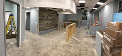 Front Reception Desk is going in PMAH Vet in Acton MA
