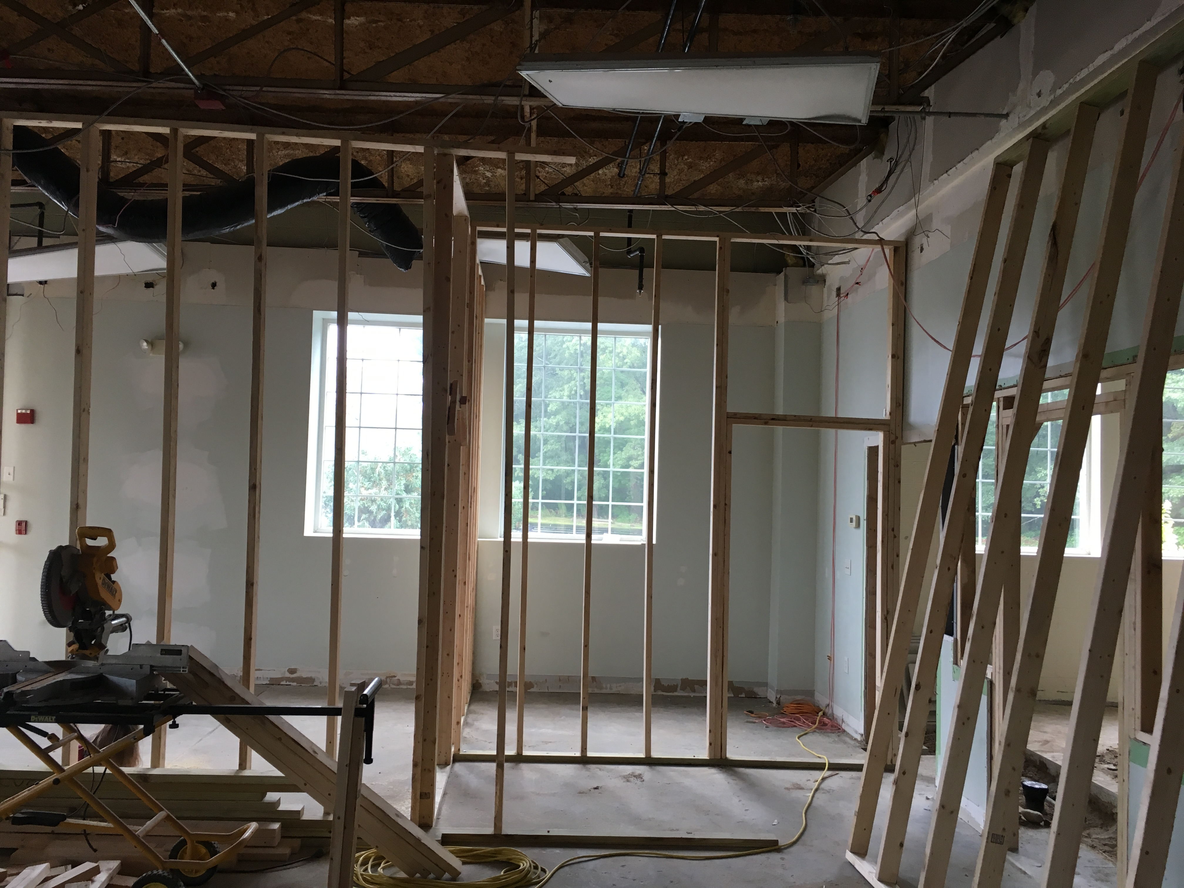 Exam room and office framing PMAH in Acton MA