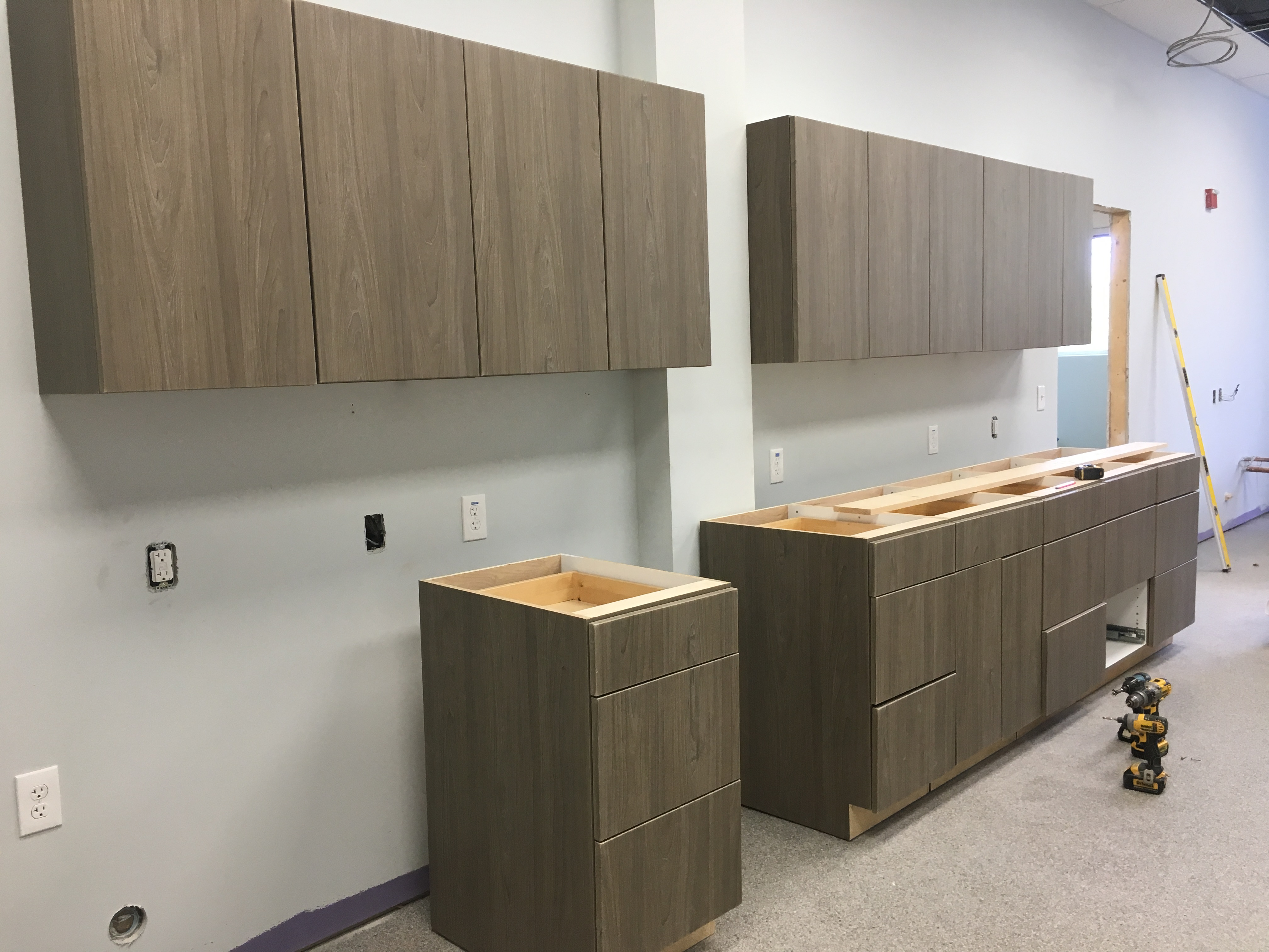 Treatment area cabinets PMAH Vet Acton MA