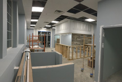 Lights and HVAC are just about finished PMAH Vet in Acton MA