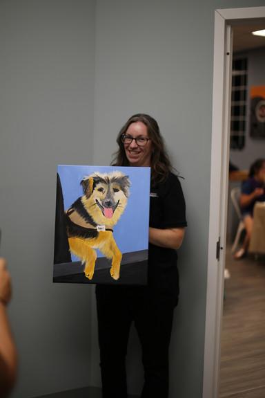 Veterinarian Acton MA Powder Mill Animal Hospital Paint Night