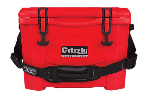 Grizzly Cooler 15 Red