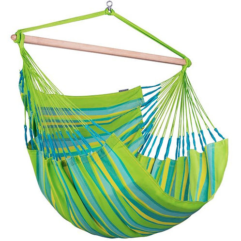Hammock Chair Kingsize Lime