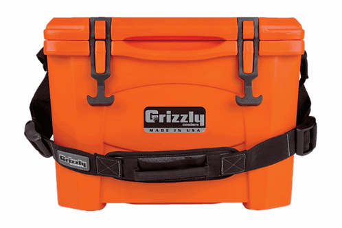 Grizzly Cooler 15 Orange