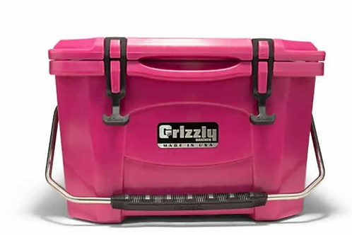 Grizzly Cooler 20 Pink