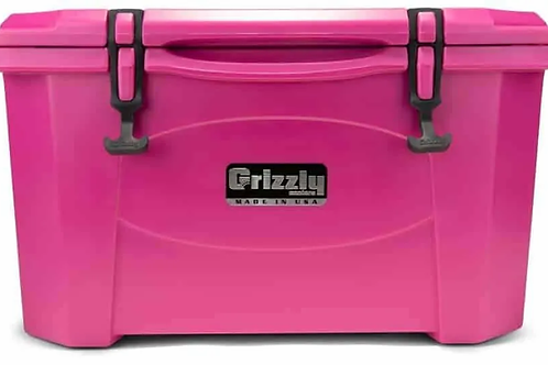 Grizzly Cooler 40 Pink