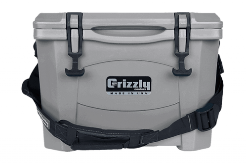 Grizzly Cooler 15 Gray