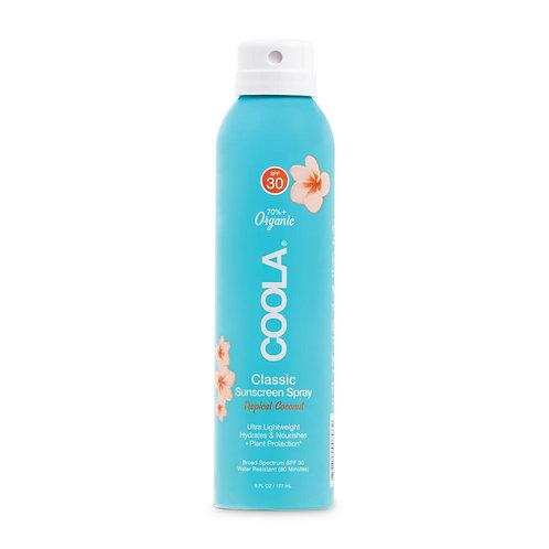 COOLA Body Spray Tropical Coconut