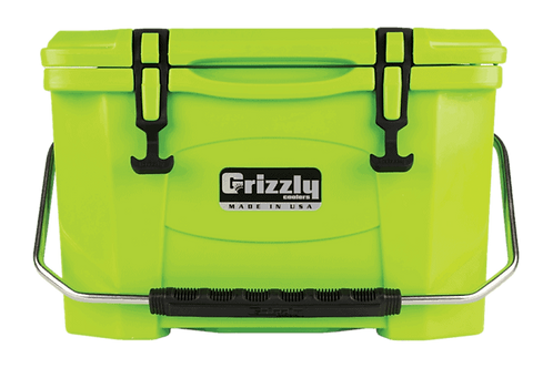 Grizzly Coolers 20 Lime Green