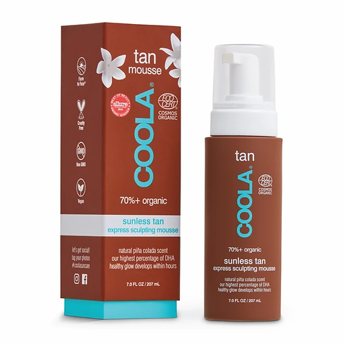 COOLA Sunless Tanning Mousse