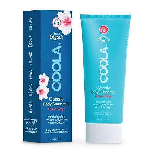 COOLA Body Sunscreen Guava Mango
