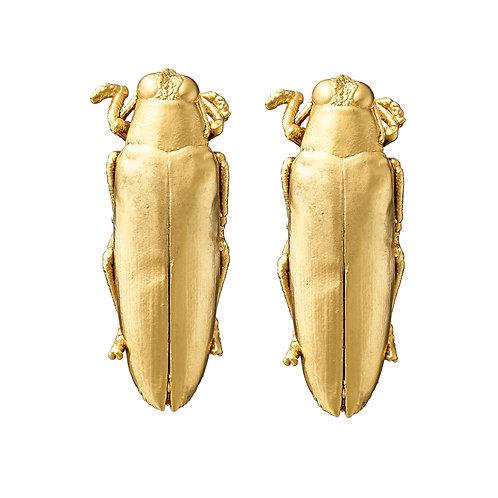Jewel Beetle Studs