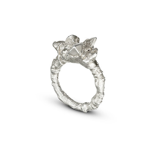 Encrusted Facets Ring