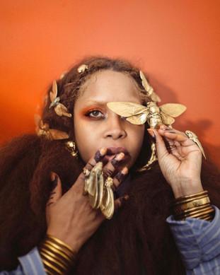 Erykah Badu featured in ID Magazine