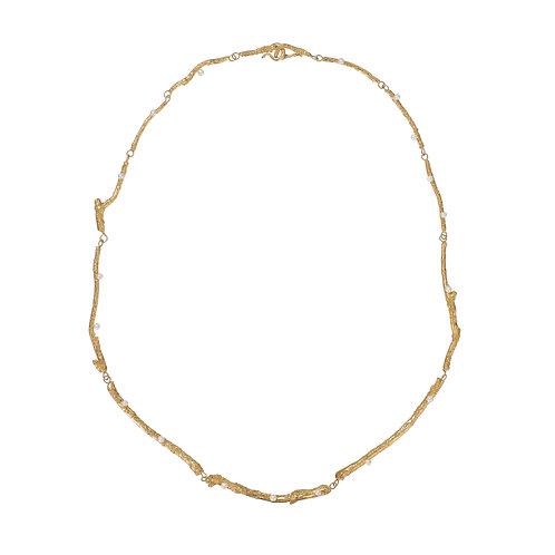 Golden Branch Necklace