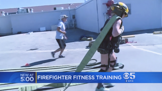 Blaze of Glory Fitness Featured on KPIX News