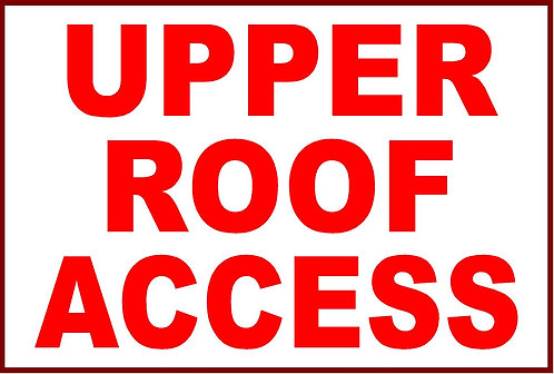Upper Roof Access