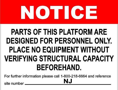 Platform - Notice
