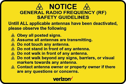 Radio Frequency Safety