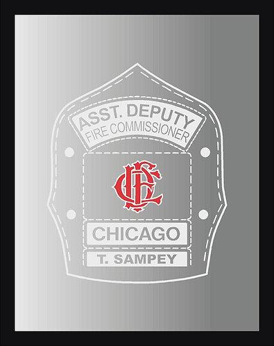 Custom FD Logo Mirror