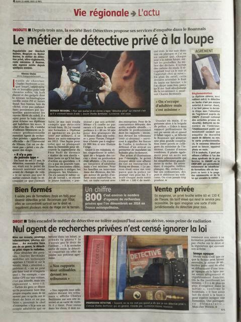 Le métier de détective privé à la loupe : par BERI Détectives Roanne