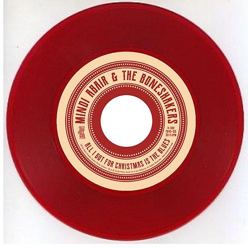 RED Vinyl 45 Single - Collectors Edition