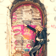 Mindi Abair Graffiti Wall 3