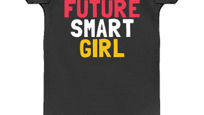 AMY POEHLER'S FUTURE SMART GIRL ONESIE