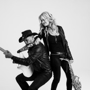 Mindi Abair and Randy Jacobs in action 2