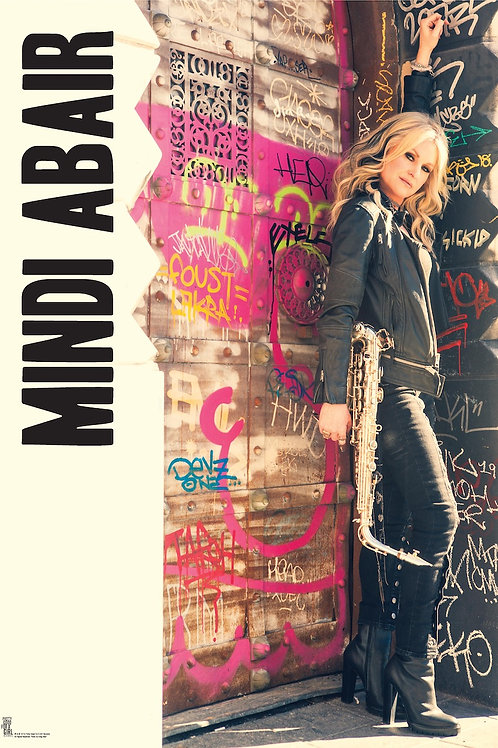 "Signed Mindi Abair 13"" X 19"" Poster"