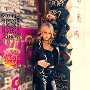 Mindi Abair Graffiti Wall