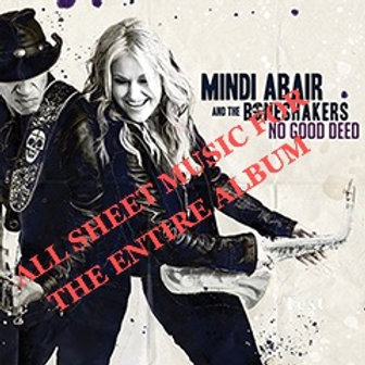 Sheet Music - No Good Deed