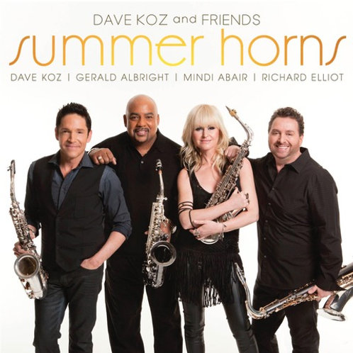 Summer Horns CD (2013)