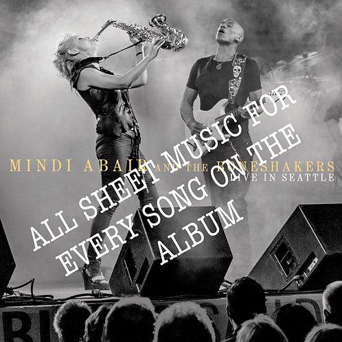 Sheet Music - Mindi Abair & The Boneshakers LIVE in Seattle