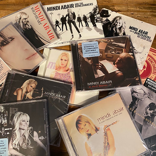The Ultimate Fan Package - All 11 of Mindi's CDs - All Signed