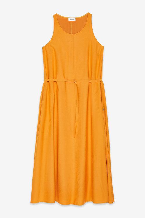 Ottod'Ame Long Dress with Belt