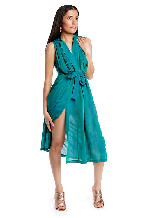 Mii Tie Front Dress