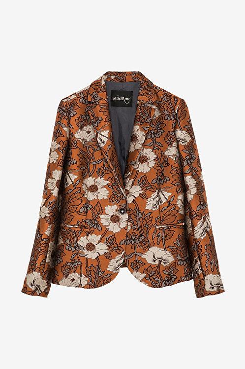 ottod'Ame Floral Print Jacket