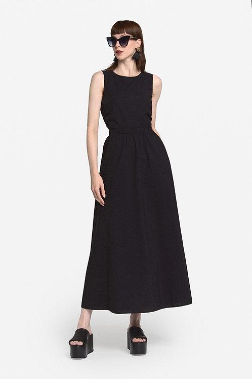 Ottod'Ame Poplin Long Dress