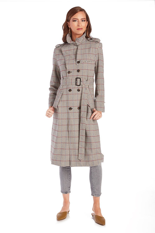 SUNCOO Elise Trench Coat