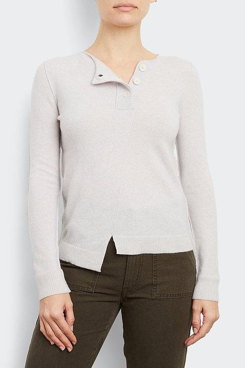 Inhabit Cashmere Button Stretch Sweater