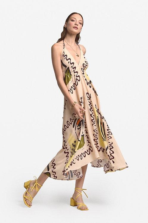 Ottod'Ame Viscose Midi Dress