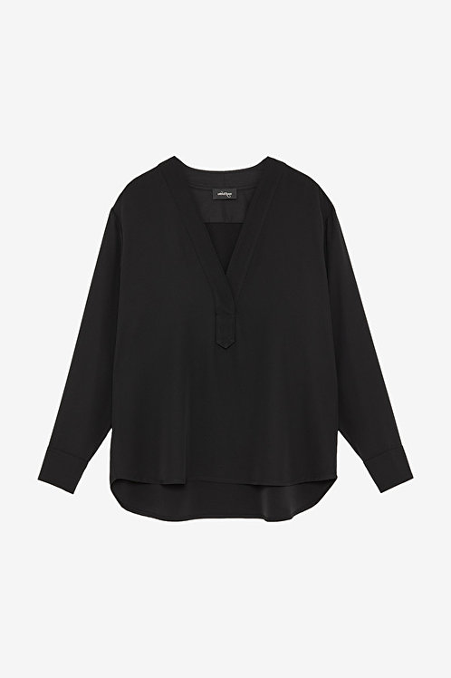 ottod'Ame V-Neck Blouse