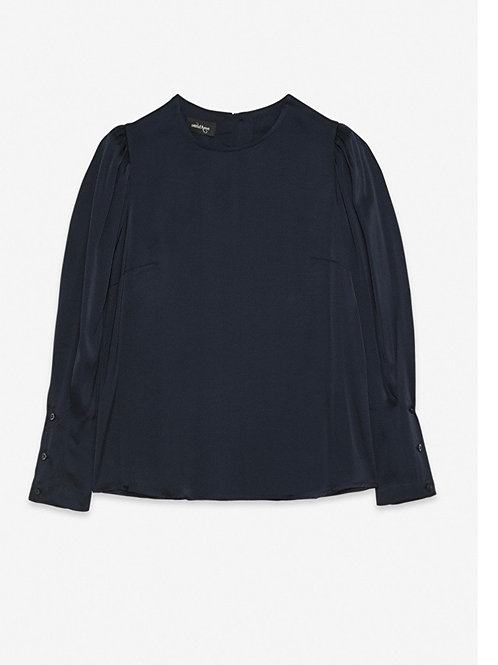 Ottod'ame Blouse with Tucks
