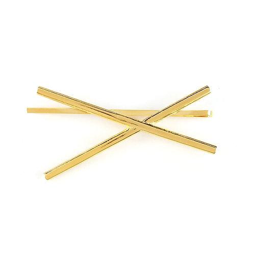 B-low The Belt Triple Cross Bobby Pin
