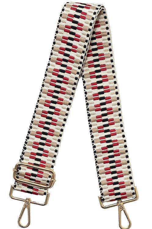ah-dorned bag strap