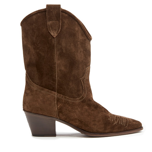 CLOSED Western Suede Boot