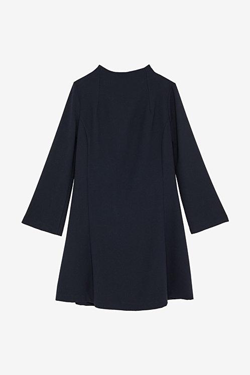 ottod'Ame Flared Midi Dress
