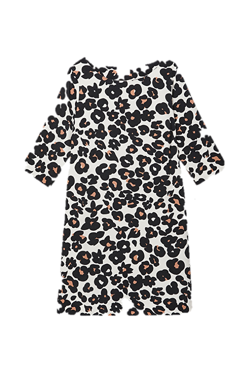 Ottod'Ame Dress with Spotted Printing
